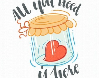 All you need is here. Vector illustration.