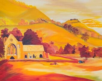 Valle Crucis Abbey & Binas Bran