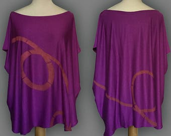 Cotton and viscose t-shirt-sold