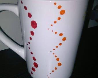Wave of Dots 14oz Mug