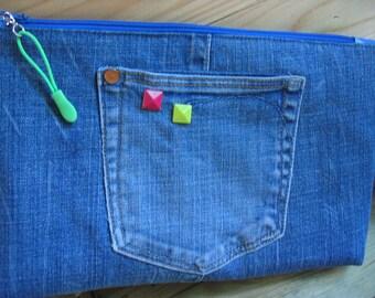 Jeans wash bag