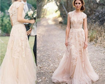Custome made wedding gown