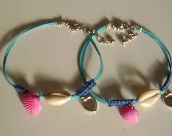 Girls bracelet and anklet set/Girls jewellery/Teen jewellery/Teens bracelets/ Teenager jewelry/Teens bracelet