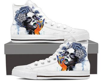 "High-top sneaker ""the dream"" by Minjae Lee for WOMEN"