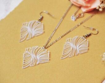 Diamond Storm jewelry set