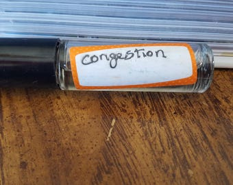 Congestion Essential Oil Roll-On blend