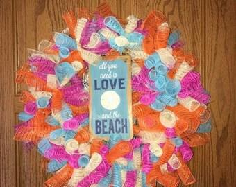 Summer Beach Wreath