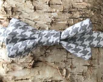 Bow Tie, Bow tie for kids, Toddler Bow tie, baby bow tie, houndstooth bow tie, cotton bow tie, trendy bow tie, kids bowtie, bow tie, bowties