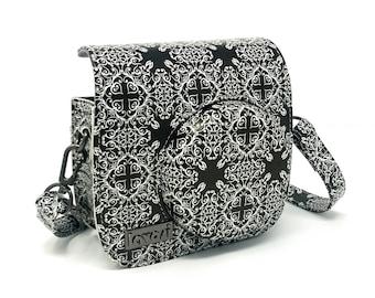 Lavosi - Baroque pattern - cute Fujifilm Instax Mini 8 camera case - photographer gift