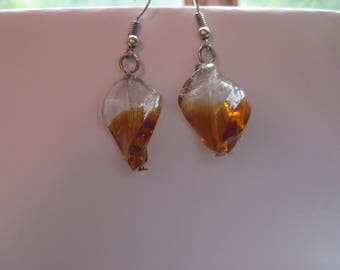 Butterscotch Twists Earrings