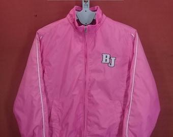 Vintage Unionbay Jacket Sweater Windbreaker Pink Colour Size 95 Adidas Windbreakers Nike Windbreakers Sportwear Hip Hop