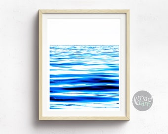 Ocean Wall Decor, Ocean Wall Art, Printable Art, Nautical Wall Art, Ocean Photography, Blue Sea Art, Printable Wall Art, Blue Art Printable
