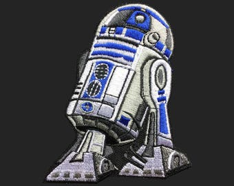 R2-D2 patch Star Wars patch movie patch embroidered patch iron on patch bag patch hat patch gift