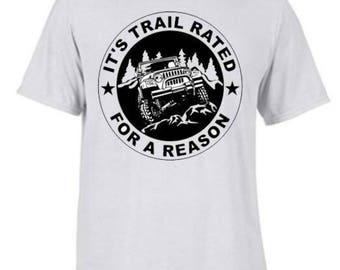 Trail Rated Black Print