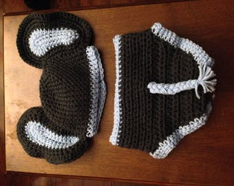 Crocheted Elephant Outfit