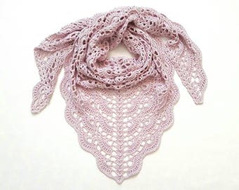 Shawl in 23 colors cotton / viscose