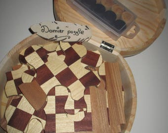 puzzle jeu de dame