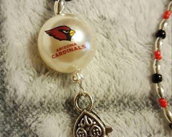 Arizona Cardinals Lanyard, ID Badge holder, Key holder