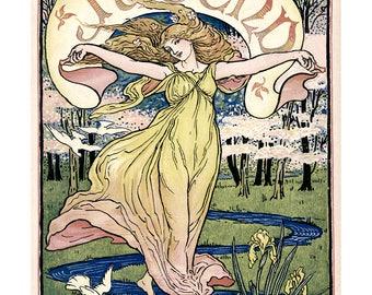 Poster - Jugend - Berlin 1920 - fine art gallery