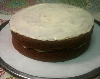 Classic Carrot Cake With Whipped Cream Cheese Frosting