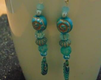 earrings beaded american indian