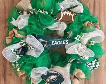 Philadelphia Eagles  LED Wreath