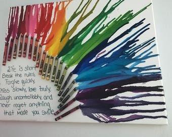 Crayon canvas