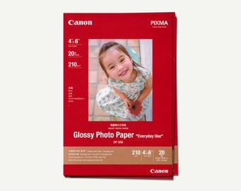 Photo Paper Glossy - imaging paper, photography paper, photo imaging paper, photo printing paper, photo printing, inkjet, Canon, 4R, Pixma
