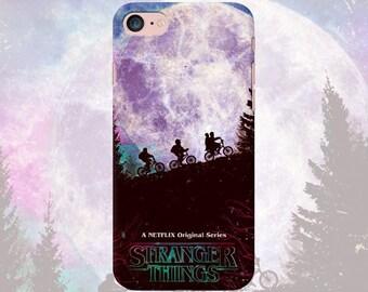 Stranger things phone case iPhone 7 7 Plus 6 6s 6 plus 5 5s 5se 4 Samsung galaxy case s7 edge s7 s6 s5 s4 s3 tv series movie print
