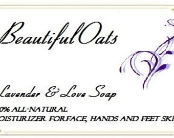 Lavender & Love Moisturizing Soap