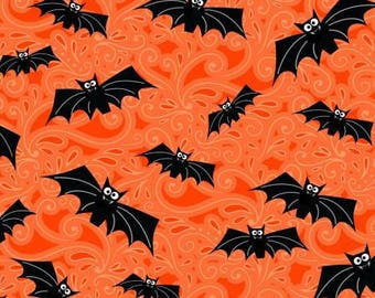 Orange Bats (glows in the dark), Fangtastic by First Blush Studio 170080
