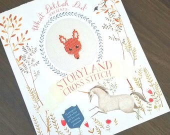 Storyland Cross Stitch by What Delilah Did   - Sewing Book Destash - Crafting Book