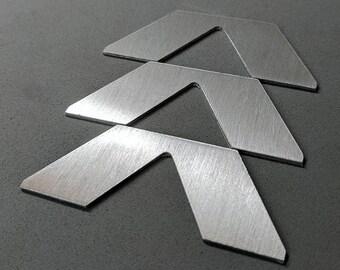 Destiny - Hunter Class Emblem - Brushed Aluminum Sticker