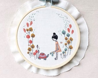 Morning Walks Embroidery