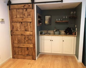 Custom rustic barn door