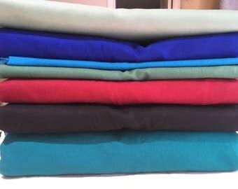 17.5 Yard Solid Color Fabric Bundle - VINTAGE