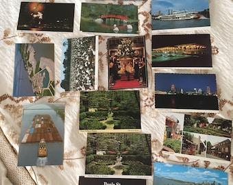 Vintage America  postcards