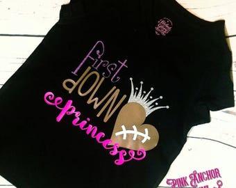 First down princess shirt