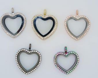 Heart Locket Various colors