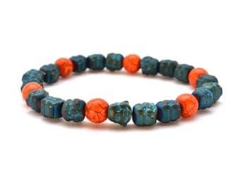 Buddha Bracelet / Yoga bracelet / Chakra bracelet / Beaded bracelet / Healing bracelet / Boho jewelry / Meditation Bracelet / Buddha Jewelry