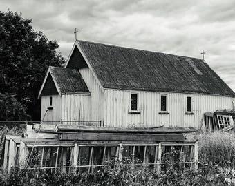 Farm House outside  of Akaroa, New Zealand