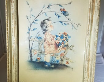 Vintage-Picture-Henry B. Sandler-NYC-Home Decor-Wall Decor