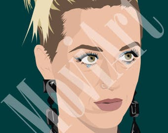 Katy Perry by MoviArt