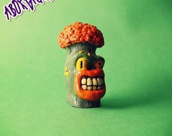 Punk Broccoli • Resin Toy