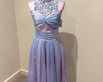 Vintage 1980's midi length dress UK size 10