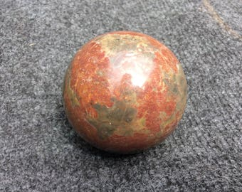 Turned hardstone ball