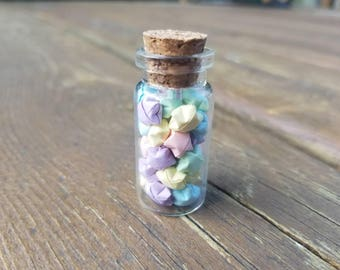 Pastel Mix Mini Wishing Star Jar