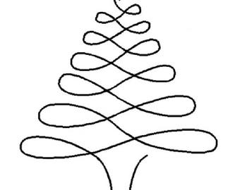 "Christmas Tree 8.25"" - 0896"