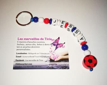 "Custom keychain ""France"""