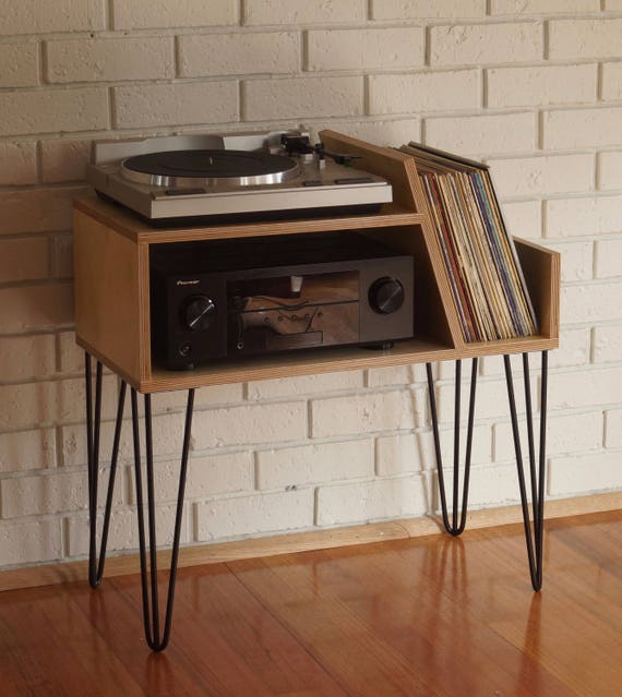 record player stand. Black Bedroom Furniture Sets. Home Design Ideas